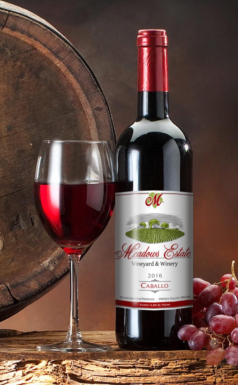 Meadows Estate Caballo Wine Oregon