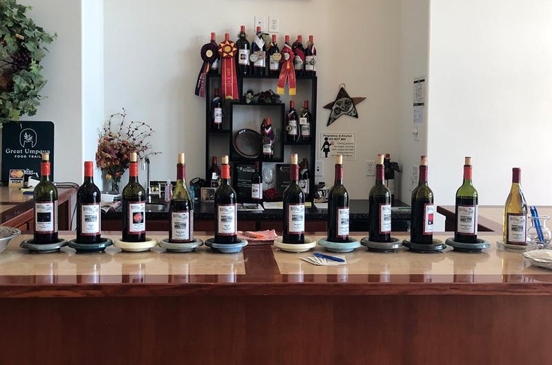 Meadows Estate Winery Tasting Room