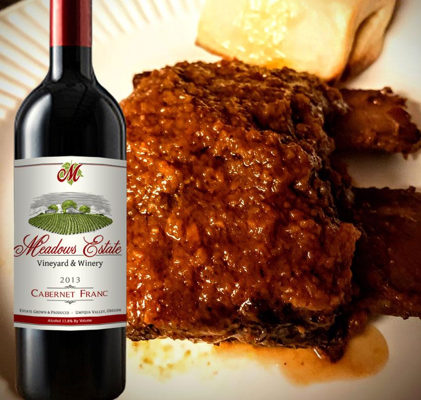 Cabernet Franc Meadows Estate Red Wine Recipes