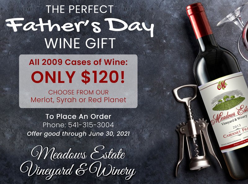 Oregon Red Wine Case Special